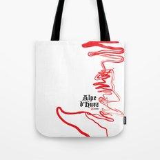 Famous Climbs: Alpe d'Huez 2, Old World Tote Bag