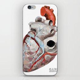 Geometric Heart iPhone Skin