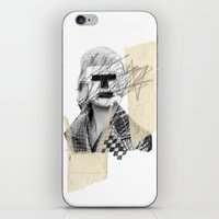 kate moss iPhone & iPod Skins featuring Kate Moss by FAMOUS WHEN DEAD