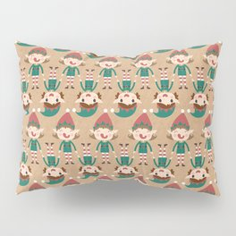 Santa's Elven Slaves I (Patterns Please) Pillow Sham