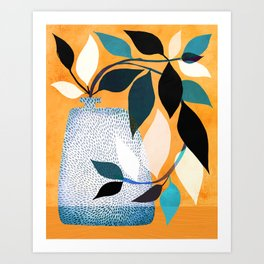 Ivy In The Courtyard Art Print