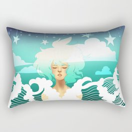 Be Fluid Rectangular Pillow