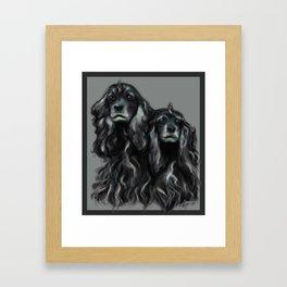 Sammy and Cloe Framed Art Print