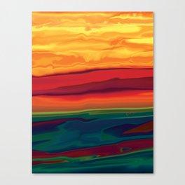 Sunset in Ottawa Vally 1 Canvas Print