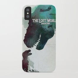 Inspired movie poster. The Lost World: Jurassic Park (1997) iPhone Case