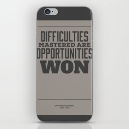 Difficulties iPhone Skin