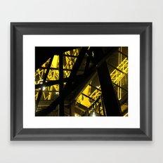 Inside The Tower I Framed Art Print