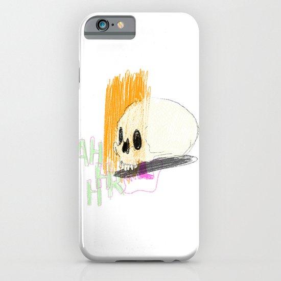 AHHHHHHR IT'S A SKULL (ACTUALLY IT'S JUST THE CRANIUM) iPhone & iPod Case