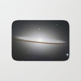 Sombrero Galaxy Bath Mat