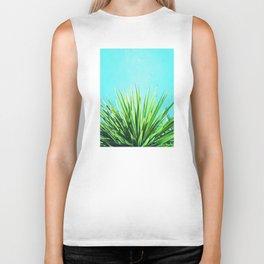 Solar Yucca Palm Biker Tank