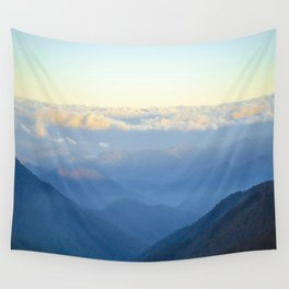Clouds at eye level  Wall Tapestry