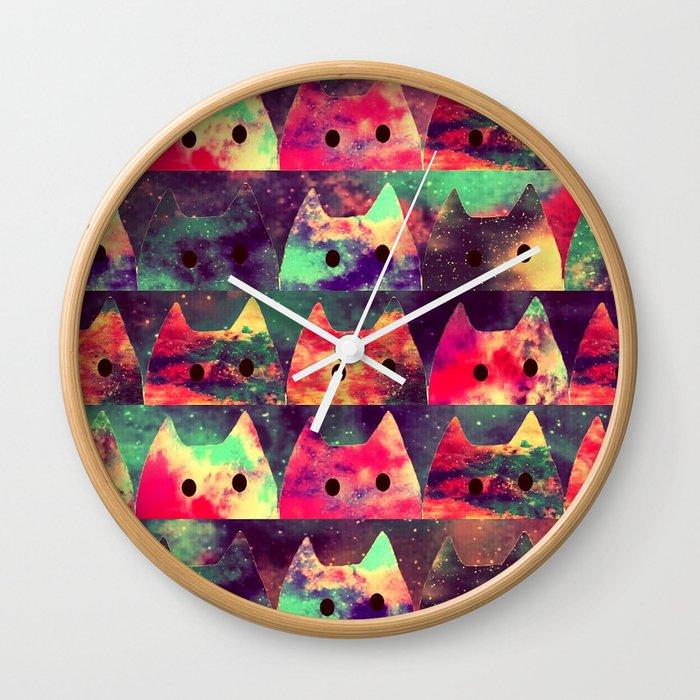 cats-131 Wall Clock