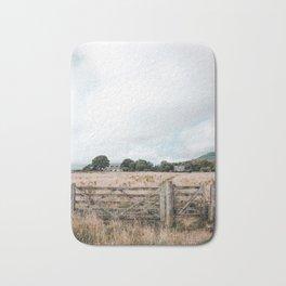 Wheat field in Scotland Bath Mat