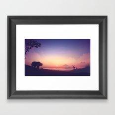 Kinship Framed Art Print