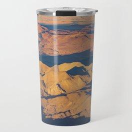 Andes Mountains Desert Aerial Landscape Scene Travel Mug