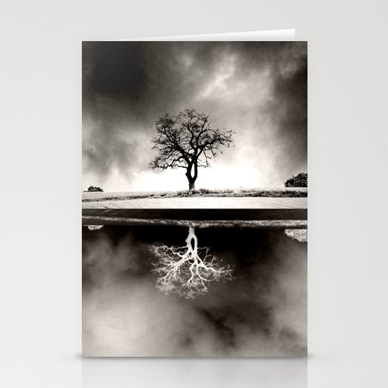 SOLITARY REFLECTION Stationery Cards