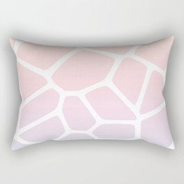 Rainbow Giraffe Rectangular Pillow