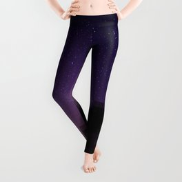 Stars view from the forest Leggings