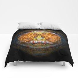 Guan Yin (Concept) Comforters
