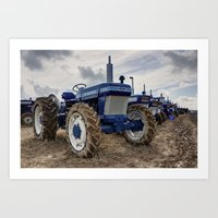 ford Art Prints featuring Ford 2810  by Rob Hawkins Photography