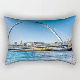 Gateshead Millenium Bridge Rectangular Pillow