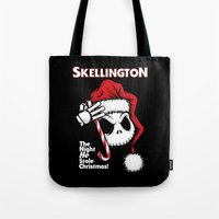 The Halloween Nightmare Tote Bag