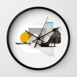 Parisian Summer Wall Clock