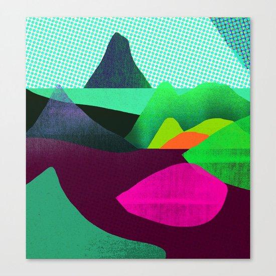 Soft World Canvas Print