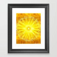Manipura - Chakra 3 Framed Art Print