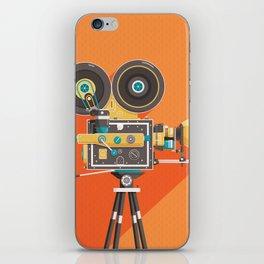 Cine: Orange iPhone Skin