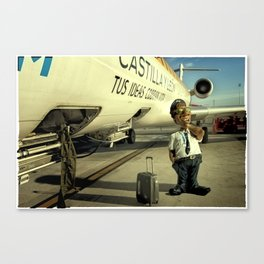 Cpt Roger Cambion, CRJ 900 Canvas Print