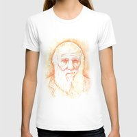 darwin T-shirts featuring CHARLES DARWIN by willeyworks