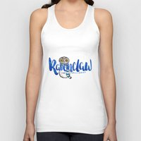 ravenclaw Tank Tops featuring Ravenclaw The Intelligent by AliceInWonderbookland
