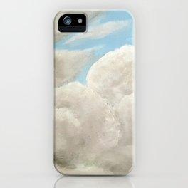 Cloudy Blue Sky iPhone Case