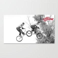 Offline III Canvas Print