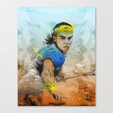 Rafa Nadal Canvas Print