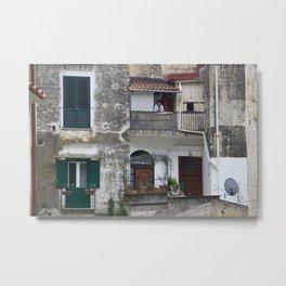 Melancholy Amalfi Metal Print
