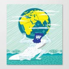 GREEK GODZ ~ ATLAS  Canvas Print