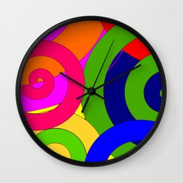 Psyco solid Wall Clock