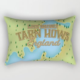 Tarn Hows, Lake District National Park, England Rectangular Pillow