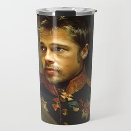 Brad Pitt - replaceface Travel Mug