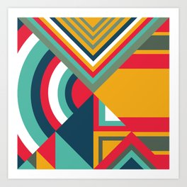Tribal I Art Print
