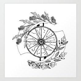 The Wheel of Fortune Art Print
