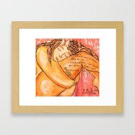 Body Love Framed Art Print