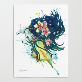 Beach Goddess Poster