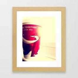 Winter Days Framed Art Print