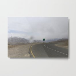 lonely roads.. Metal Print