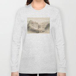 Vintage Illustration of Petra (1849) 2 Long Sleeve T-shirt