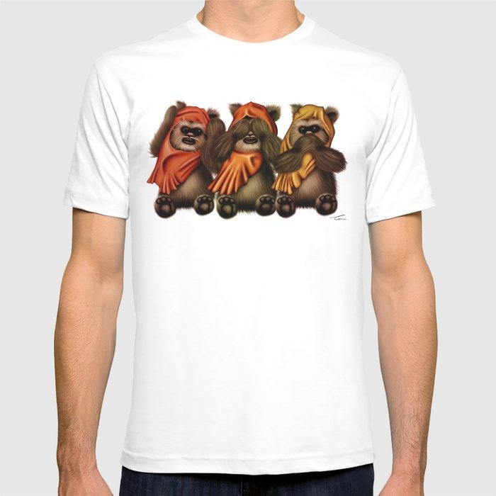STAR WARS The Three Wise Ewoks T-shirt