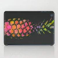 pineapple iPad Cases featuring Pineapple by Georgiana Paraschiv
